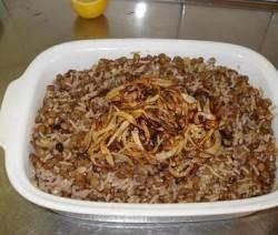 مجدرة الرز