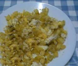 مفركة القرع مع البيض