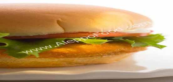 ساندوتش برجر الدجاج بالمايونيز