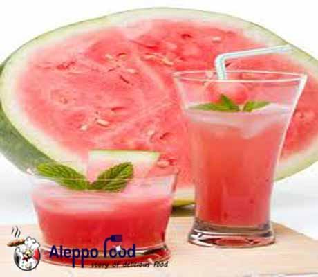 شراب البطيخ الخفيف