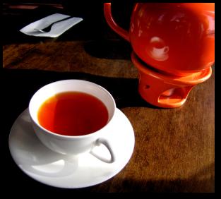 شاي أحمر
