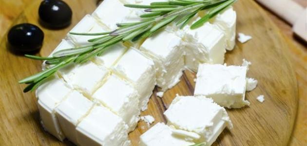 صور طريقة عمل الجبنة
