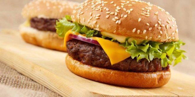 طريقة عمل برجر لحم