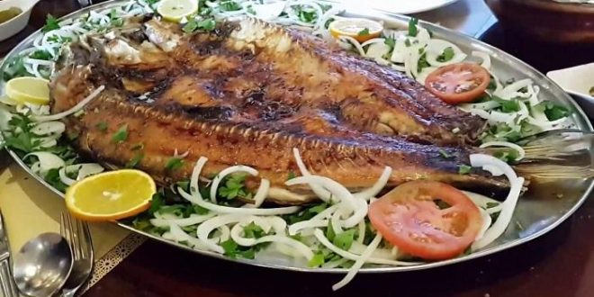 طريقة عمل سمك مسكوف
