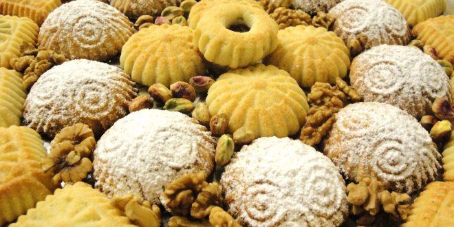 صور طريقة الكرابيج وكعك العيد الحلبي